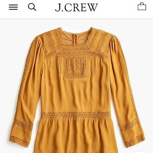 J. Crew Point Sur Lacey Blouse